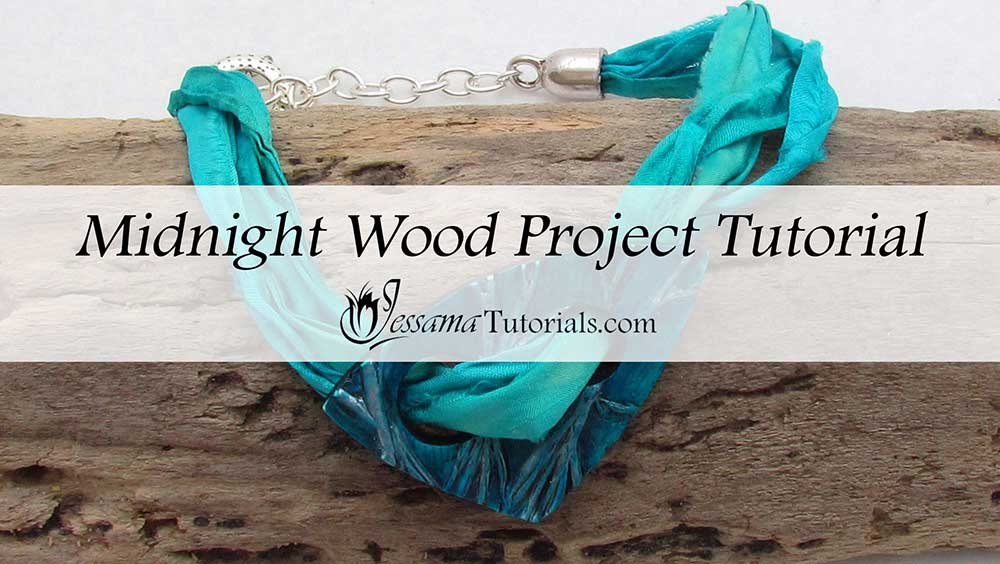 Midnight Wood Polymer Clay Project Tutorial