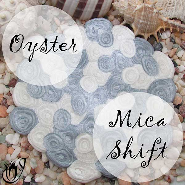 Oyster Mica Shift Polymer Clay Technique