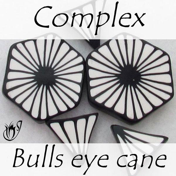 Complex Bullseye Petal Canes
