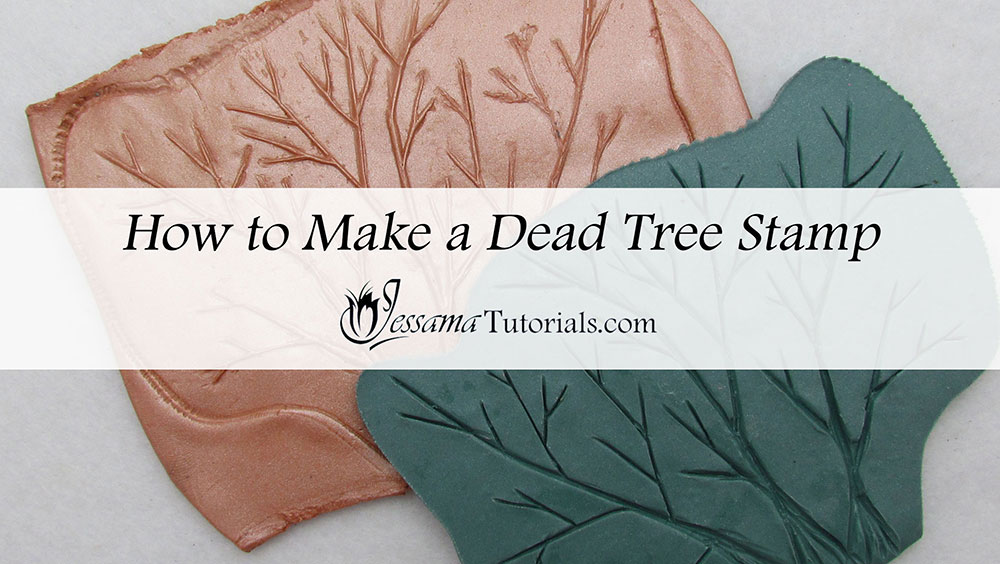 How to Make a Polymer Clay Texture Stamp