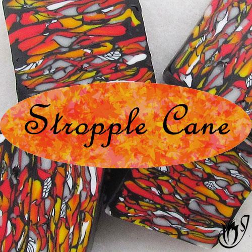polymer clay stroppel cane