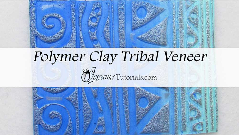 Tribal Polymer Clay Veneer Tutorial