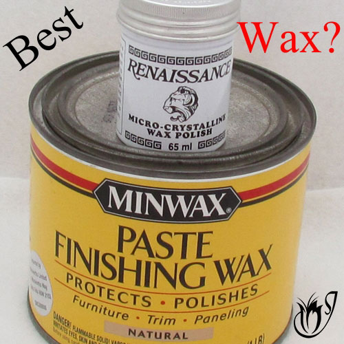 Polymer clay finishing wax