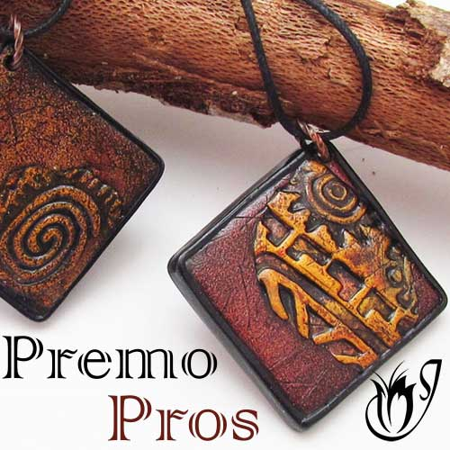 Premo Clay Pendants