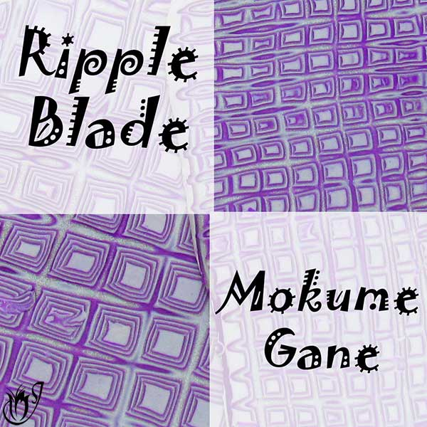 Ripple Blade Mokume Gane Technique