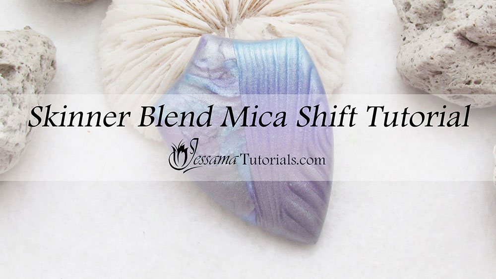 polymer clay skinner blend mica shift