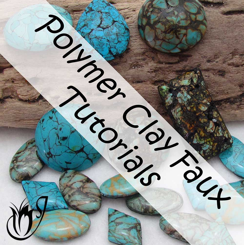 faux polymer clay turquoise