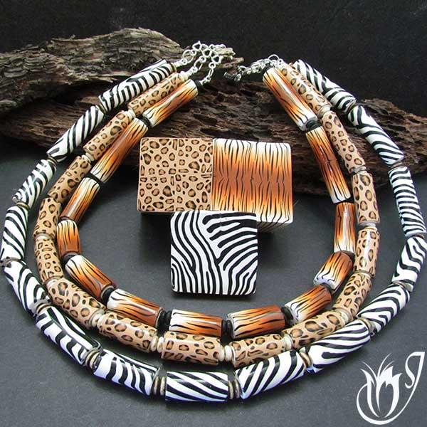 Animal Safari Necklace Tutorial