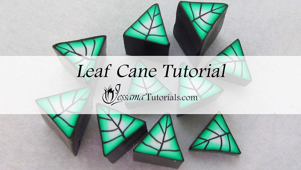 Basic Polymer Clay Leaf Canes
