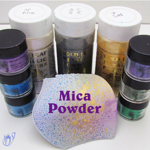 Mica Powders for Polymer Clay