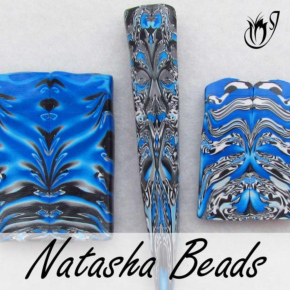 Polymer Clay Natasha Beads