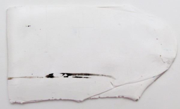 black streaks on polymer clay