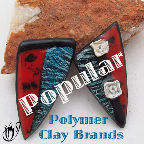 Polymer clay pendants