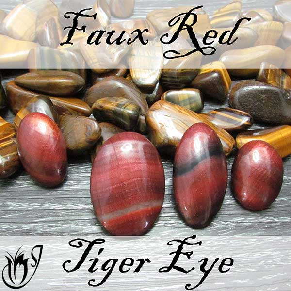 Polymer Clay Faux Red Tiger Eye